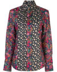 Vivienne Westwood Amazon フローラル シャツ Multicolor