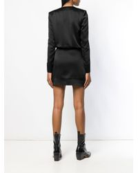 Saint Laurent Perfectly Fitted Dress Black