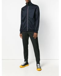 PS by Paul Smith Blue Zip-front Sports Jacket for men