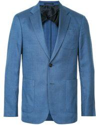 Blazer a rayas del mismo tono Cerruti 1881 de hombre de color Blue