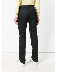 Raf Simons Black Patch Tailored Trousers for men