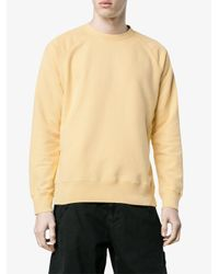 Our Legacy - Yellow Crewneck Sweatshirt for Men - Lyst