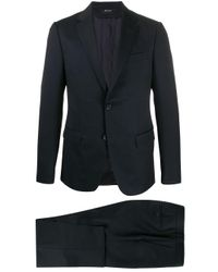 Z Zegna Black Two-piece Formal Suit for men
