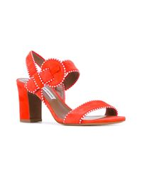 Tabitha Simmons | Red Loreto Sandals | Lyst
