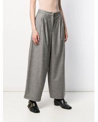 Fabiana Filippi オーバーサイズ パンツ Gray