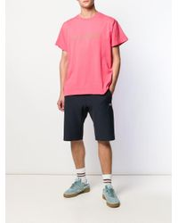 Rassvet (PACCBET) Pink Oktyabr Print T-shirt for men