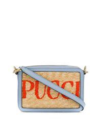 Emilio Pucci ロゴ ショルダーバッグ Multicolor