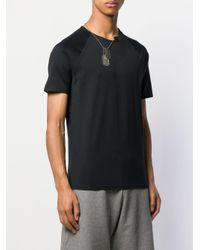 T-shirt con applicazione di Givenchy in Black da Uomo