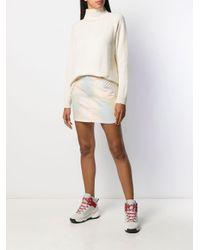 The Elder Statesman カシミア ロングライン セーター Multicolor