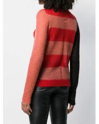 Rick Owens Red Klassischer Pullover