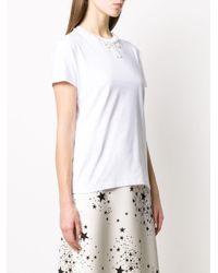 Miu Miu リボンディテール Tシャツ White