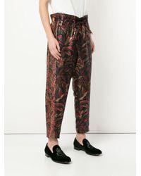 Pantalones Phoenix fruncidos Yoshio Kubo de hombre de color Multicolor