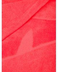 Fendi - Red Bag Bugs Beach Towel - Lyst