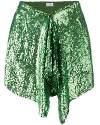 P.A.R.O.S.H. スパンコール スカート Green