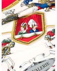 Pañuelo Carré Chevalerie pre-owned Hermès de color Multicolor