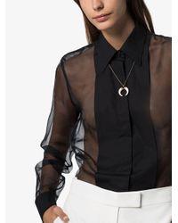 Isabel Marant ボーン ネックレス Metallic