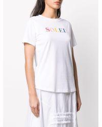 Chinti & Parker Soleil Tシャツ White