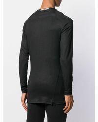 メンズ 1017 ALYX 9SM ロゴ スウェットシャツ Black