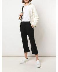 Pantalon crop à effet sarouel Nili Lotan en coloris Black
