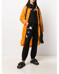 McQ Alexander McQueen オーバーサイズ レインコート Orange