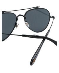 Givenchy - Black Aviator Sunglasses - Lyst