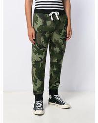 Pantalon à imprimé camouflage DIESEL pour homme en coloris Green
