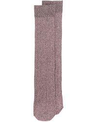 Golden Goose Deluxe Brand Pink Elle Socks