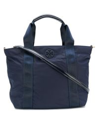 Tory Burch | Blue Small Quinn Shoulder Bag | Lyst