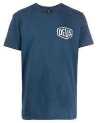 T-shirt con stampa di Deus Ex Machina in Blue da Uomo