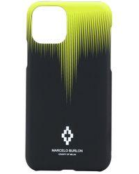 Чехол Для Iphone 11 С Графичным Принтом Marcelo Burlon для него, цвет: Black