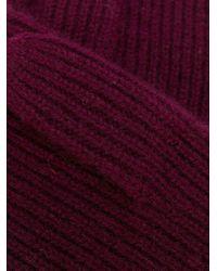 Isabel Marant Chiraz グローブ Purple