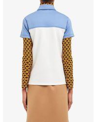 Prada ラッフル ポロシャツ Multicolor