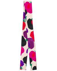 LaDoubleJ パターン スカーフ Multicolor