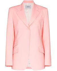 Blazer con botones we11done de color Pink