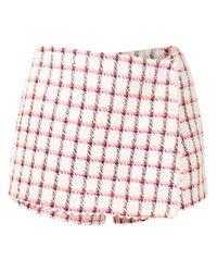 Shorts a portafoglio di Valentino in White