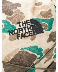 メンズ The North Face グラフィック バックパック Brown