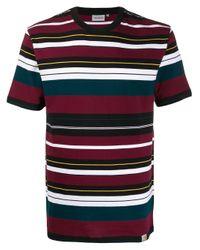 メンズ Carhartt WIP ストライプ Tシャツ Multicolor