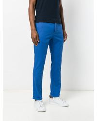 Pence Blue Pool Chinos for men