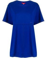Eckhaus Latta ルーズフィット Tシャツ Blue