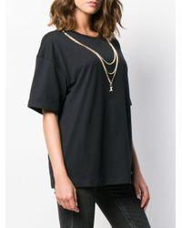 Just Cavalli デコラティブ Tシャツ Black