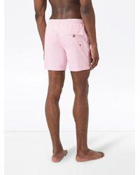 メンズ Burberry トランクス水着 Pink