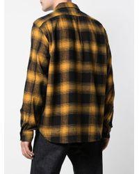メンズ Alex Mill Check Flannel Button Down Shirt Multicolor
