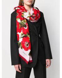 Dolce & Gabbana フローラル スカーフ Multicolor
