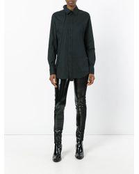 A.F.Vandevorst Black Piston Skinny Trousers