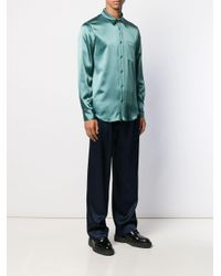 メンズ Sies Marjan Sander サテンシャツ Multicolor