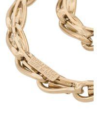 Rosantica Metallic Circle Chain Drop Earrings