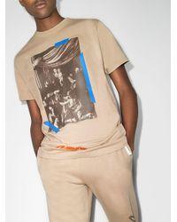 メンズ Off-White c/o Virgil Abloh X Browns 50 Caravaggio Tシャツ Multicolor