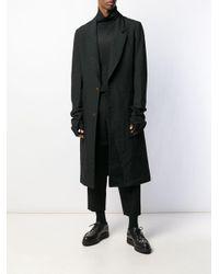 Manteau long boutonné Comme des Garçons pour homme en coloris Black