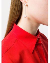 Delfina Delettrez Multicolor 18kt Gold Virus Earrings Set