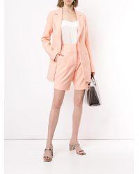 Shorts de talle alto Manning Cartell de color Pink